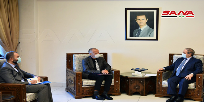 Mikdad: Enhancing cooperation with UNICEF in all fields