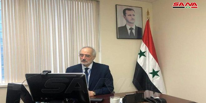 Al-Jaafari:  the US administration, EU continue economic terrorism against Syria through imposing unilateral, coercive measures