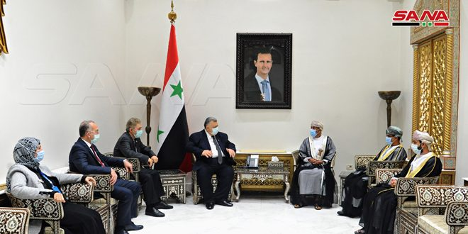 Syria, Oman stress need to develop brotherly relations