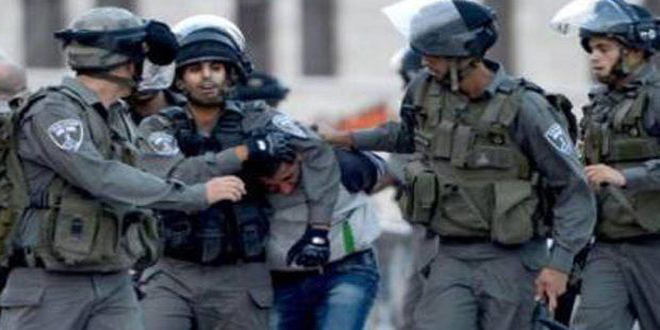 Israeli Occupation forces arrest three Palestinians in Hebron
